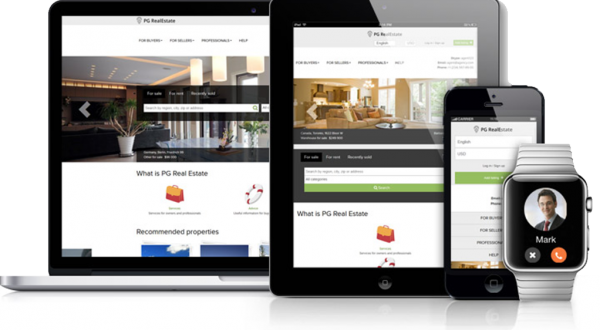 ICIWorld.com Features Mobile Ready Real Estate Websites