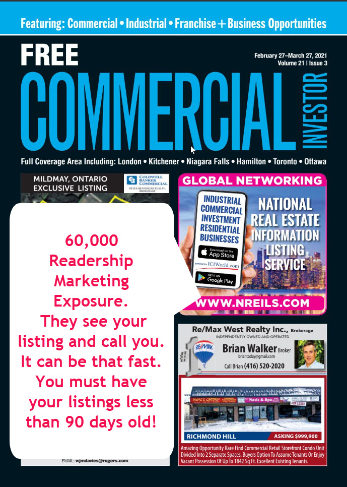 ICIWorld Front Page Ads